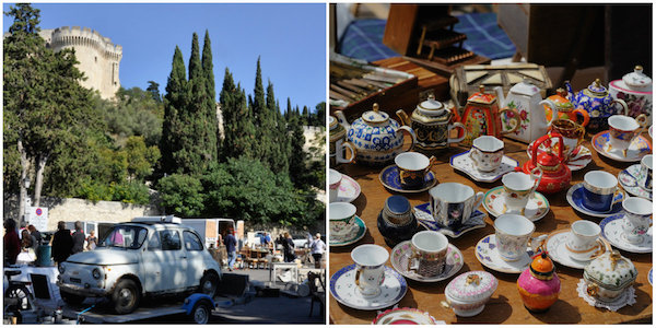 markt Villeneuve les Avignons
