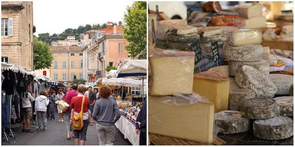 markt van Apt in de Provence