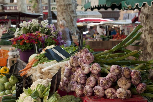Markt van Aix-en-Provence