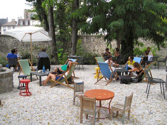 cafe A terras Parijs