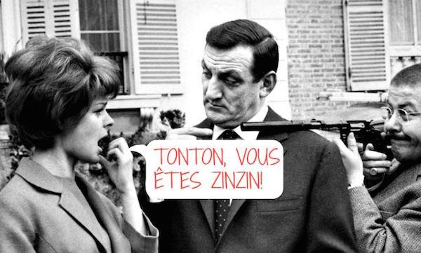 Tontons flingueurs Franse dubbelwoorden