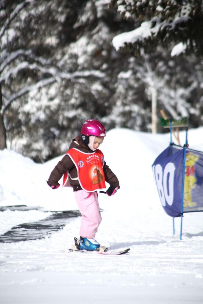 Skiles voor kinderen Serre Chevalier Franse Alpen