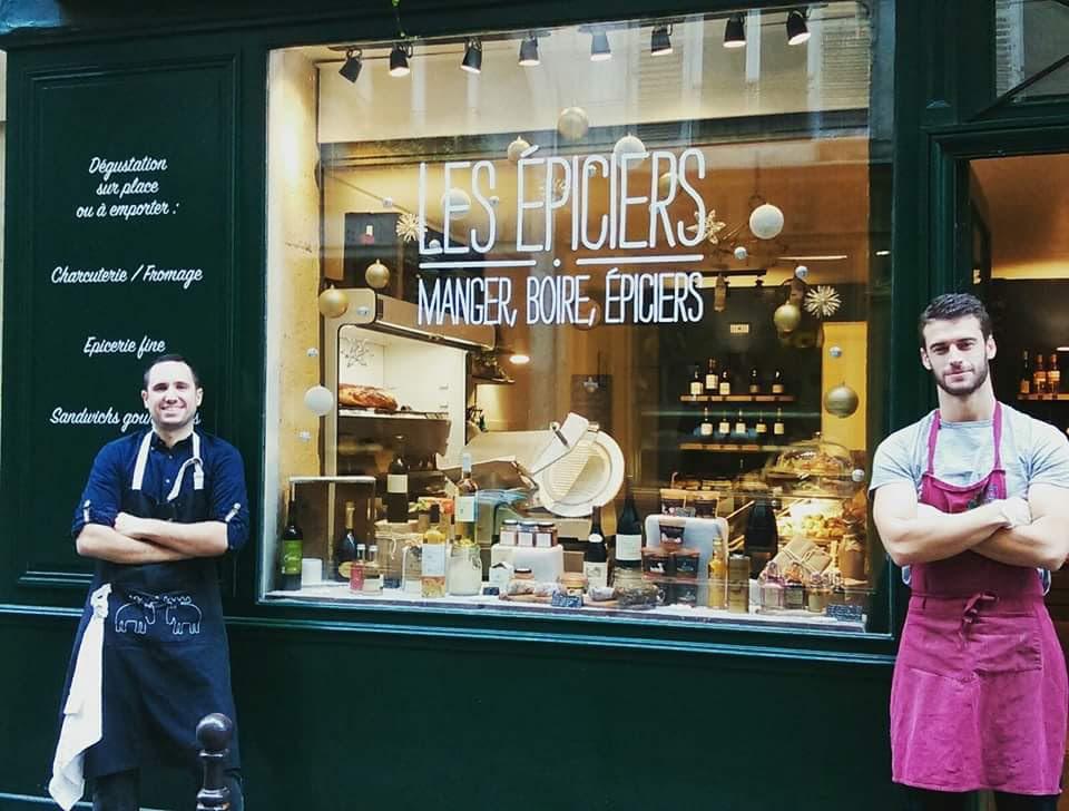 Les epiciers wijnbar Parijs Marais