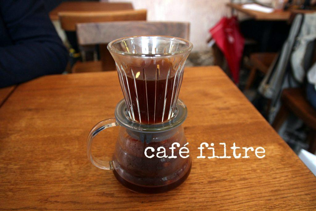 filterkoffie Parijs tekst