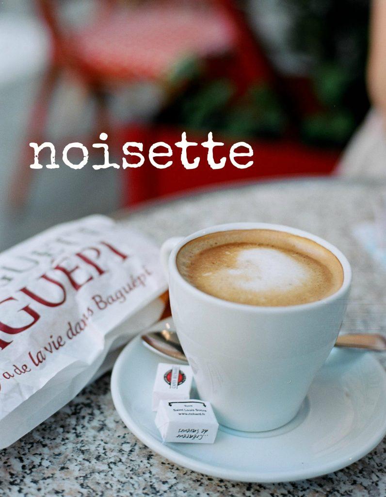 noisette koffie Parijs