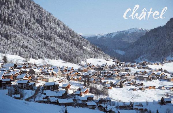 Chatel-charmant skidorp