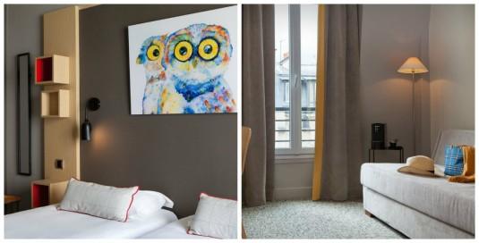 Chouette Hotel Parijs familiekamers