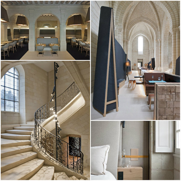 Design hotel in Abdij Fontevraud