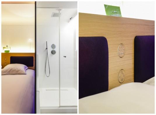 design details Hotel Odyssey Parijs