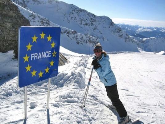 La Rosiere skien in Frankrijk