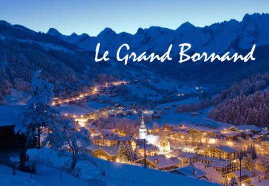 Le Grand Bornand charmante skidorpen