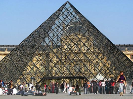 Louvre museum zonder wachtrij