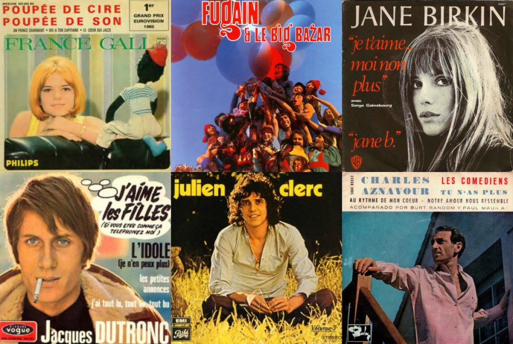 Franse chansons hits in Nederland