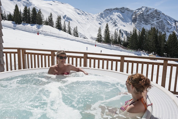 Wellness Amara Avoriaz appartementen wintersport