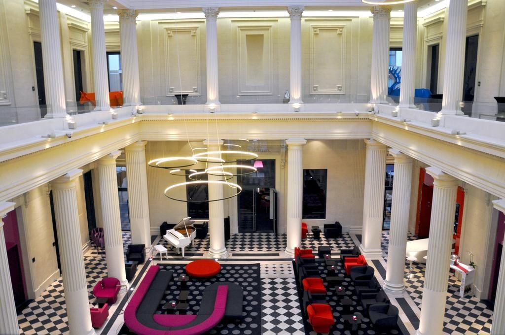 Radisson Blu Nantes hotel in paleis van justitie