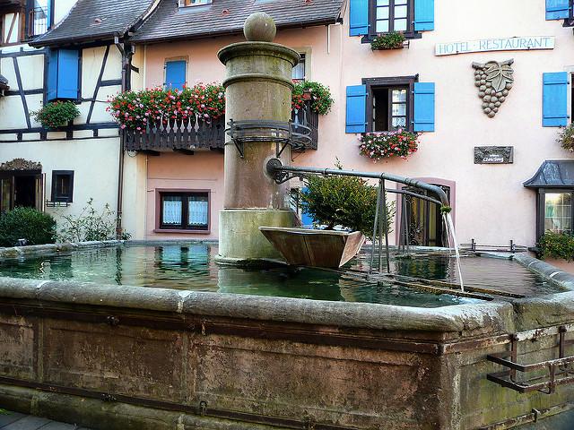 Mooiste dorpen van de Elzas TEguisheimwijnroute wijndorpen