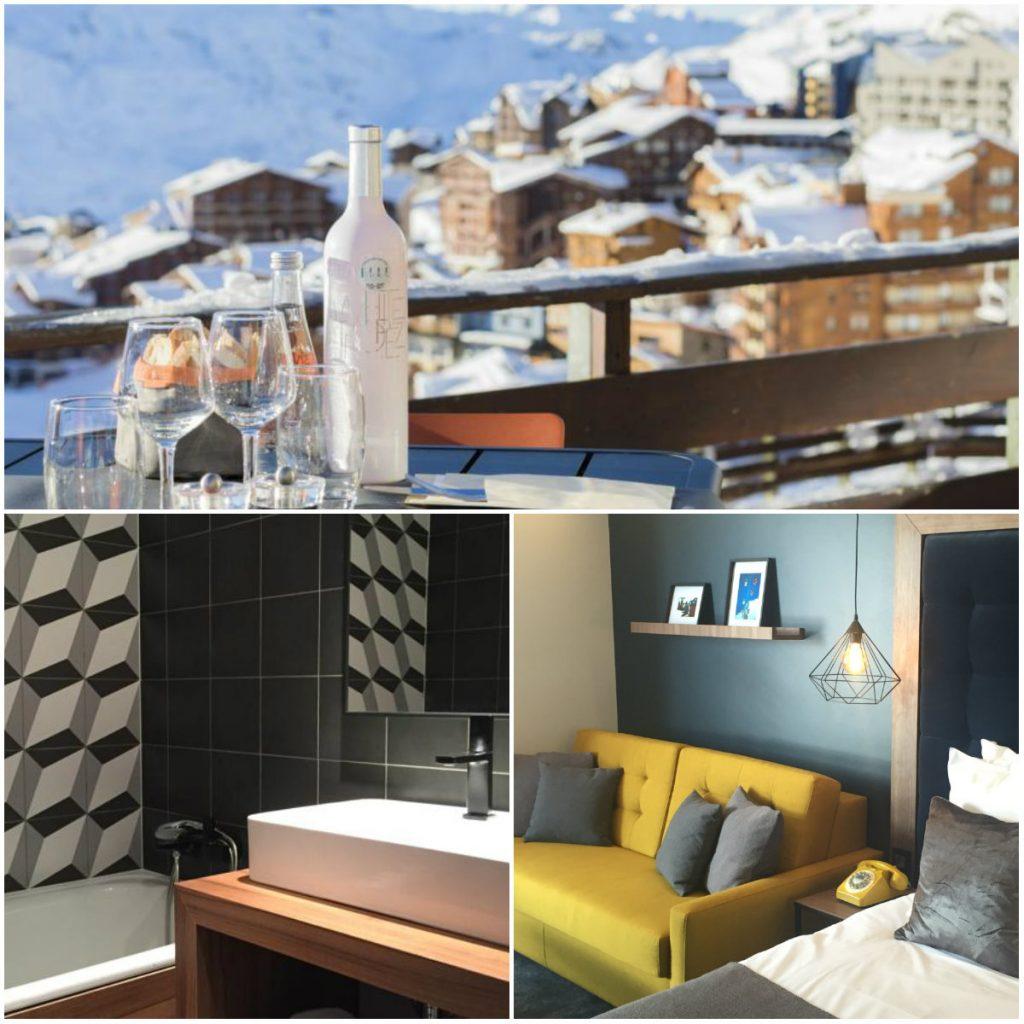 berghotel wintersportaccommodatie Val Thorens Savoie Mont Blanc