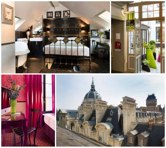 5 heerlijke hotels op de rive gauche in parijs for Hotel design sorbonne