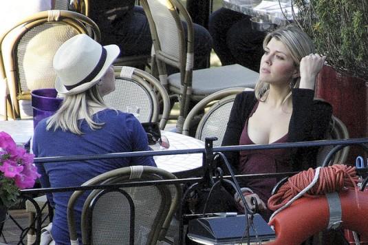 parisiennes op terras Jeab Francois Gornet