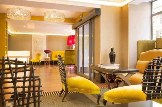 Hotel Baume in Saint-Germain wijk Parijs