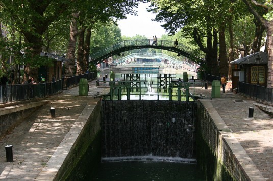 Brug over Canal Saint-Martin