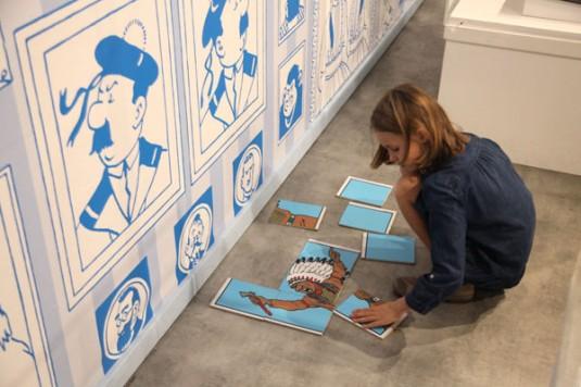 Musee en Herbe Parijs kuifje-expositie