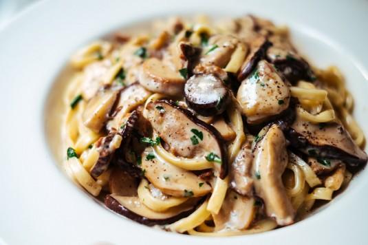 paddestoelen recepten pasta