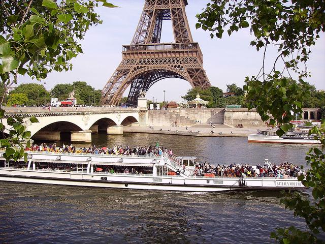 Pont d'Iena in Parijs