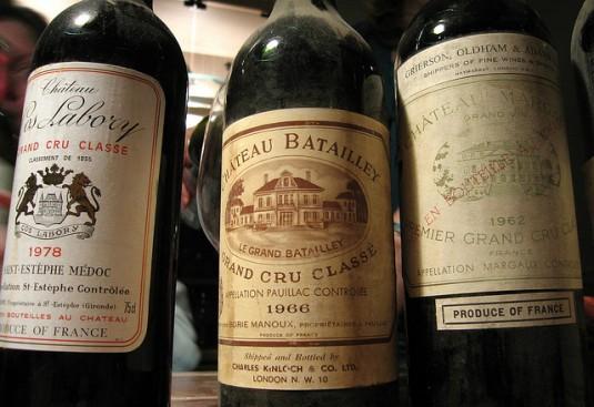 Wijnbluffen tegen een Fransman