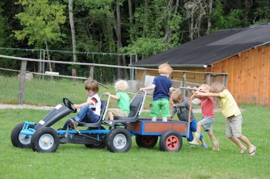 Activiteiten voor kinderen op camping Moulin des Jarasses in de Limousin