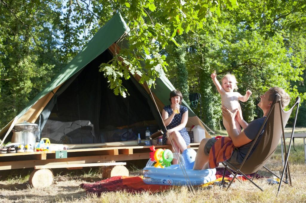 Huttopia Rillé bonaventura tent