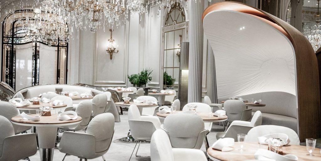 drie sterren Michelin restaurant Plaza Athenee Ducasse