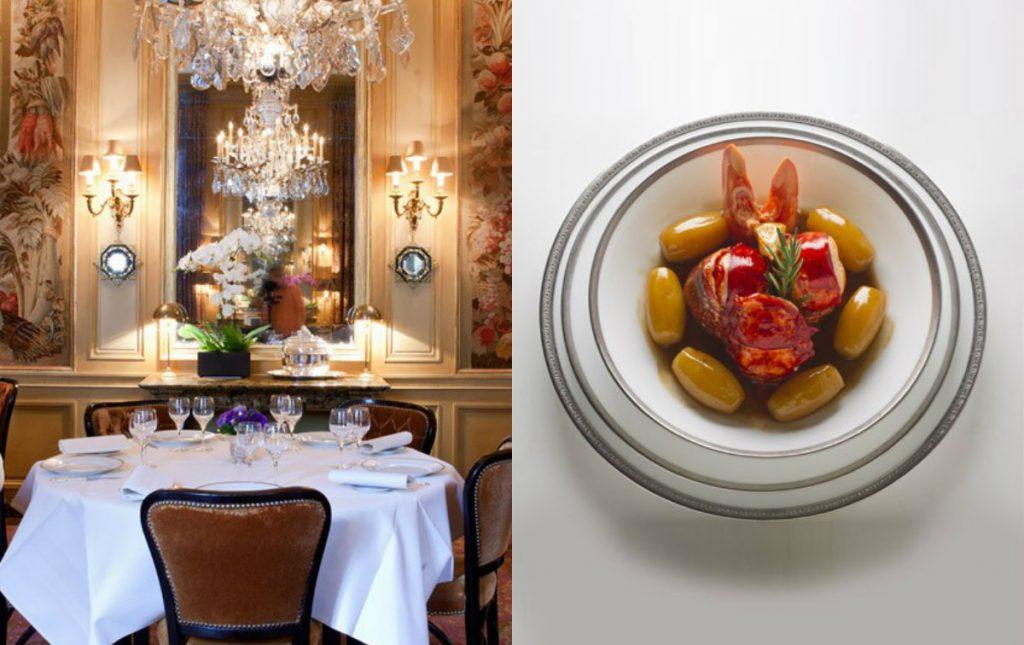drie sterren Michelin restaurant Ambroisie Place des Vosges
