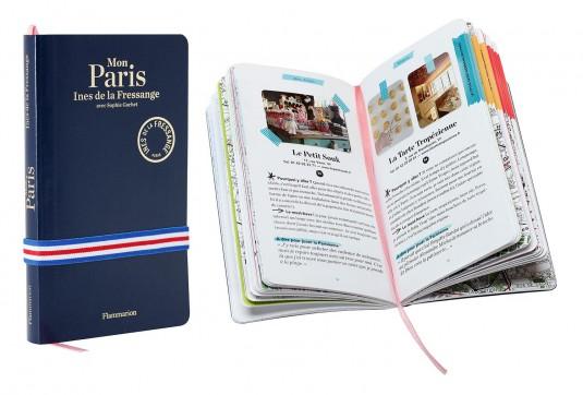 Ines de la Fressange boekjes adressen Parijs