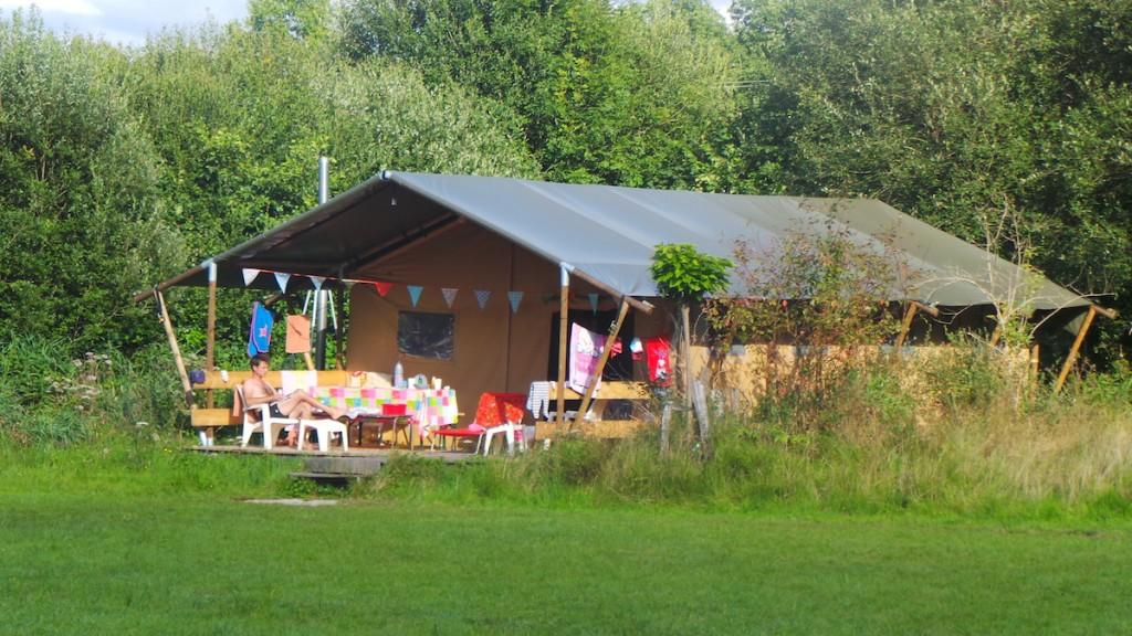 Domaine des Jarasses gezellige camping-glamping in Frankrijk
