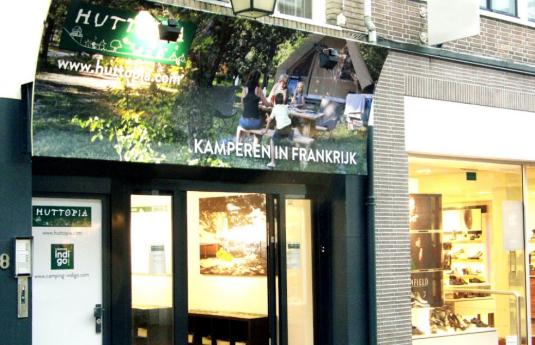 Huttopia winkel Utrecht