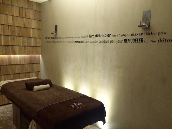 Spa van hotel Heliopic in Chamonix