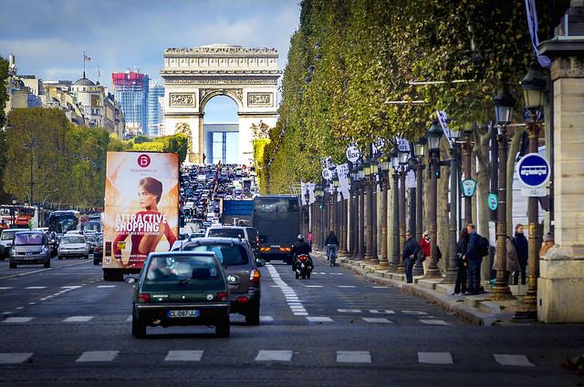 Parijs Champs-Elysees