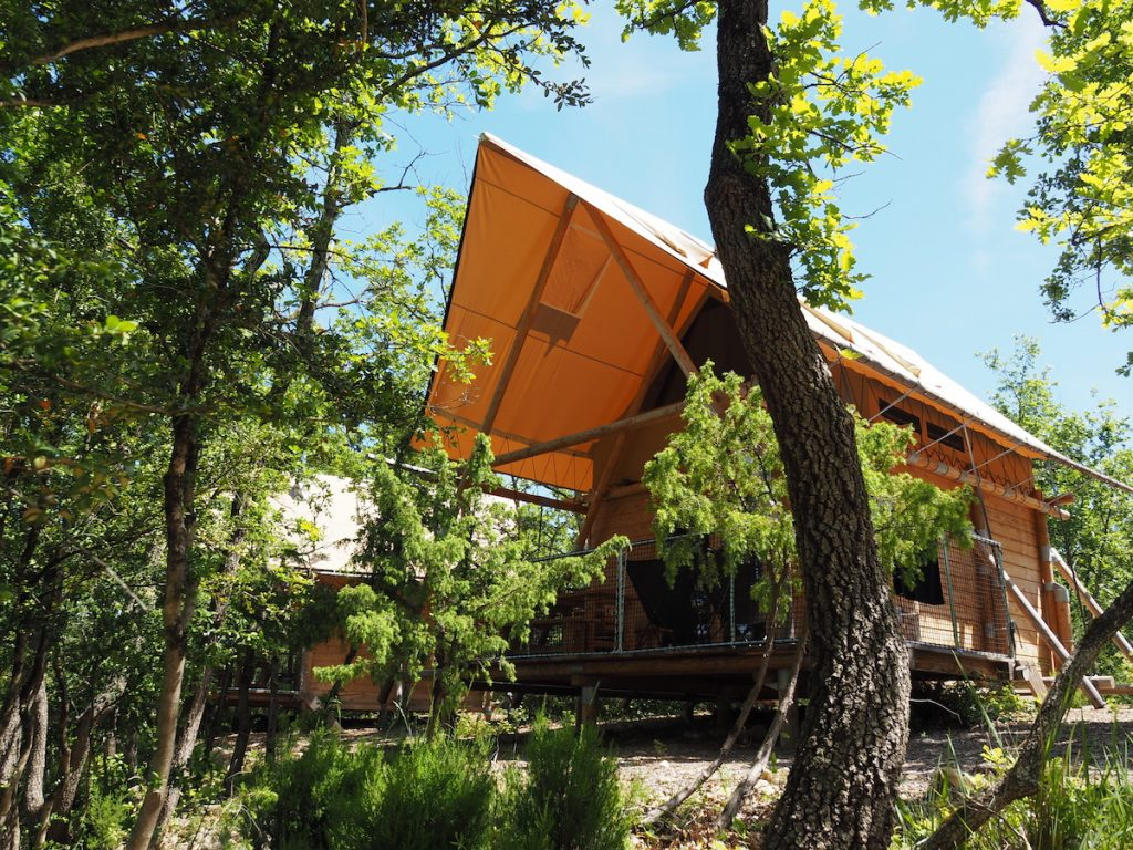 glamping camping Huttopia Sud Ardeche kinderactiviteiten