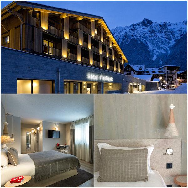 hotelkamers in Heliopic Chamonix