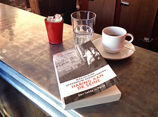 Boek Haring aan de Seine