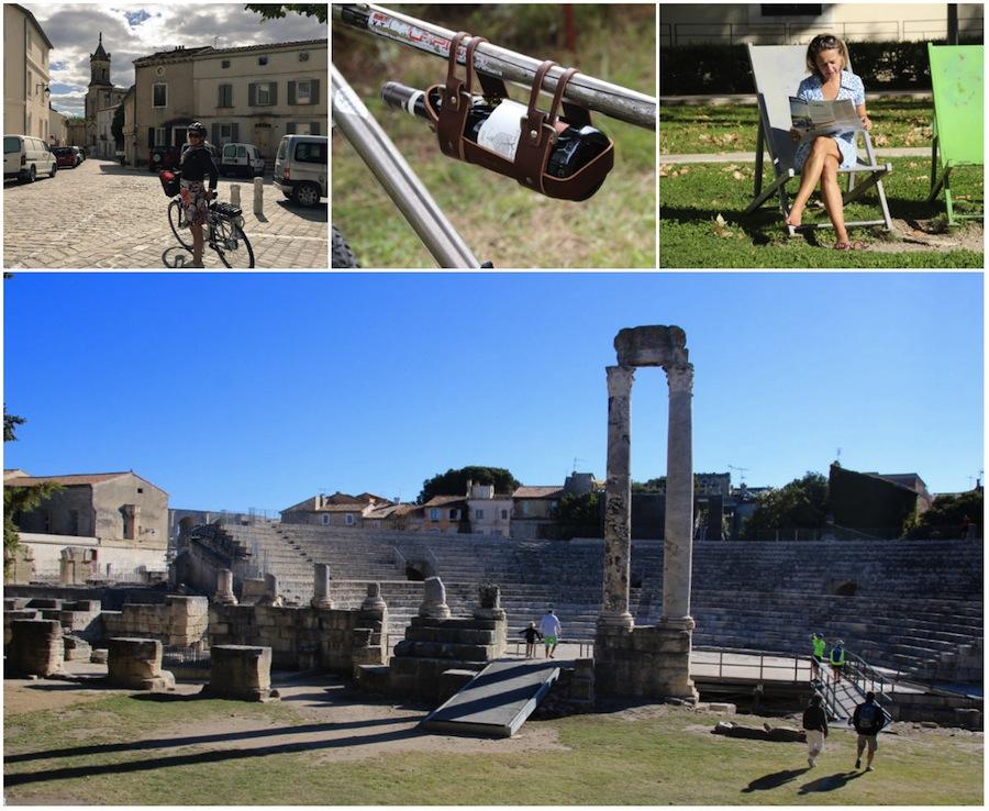 Avignon naar Arles ViaRhona