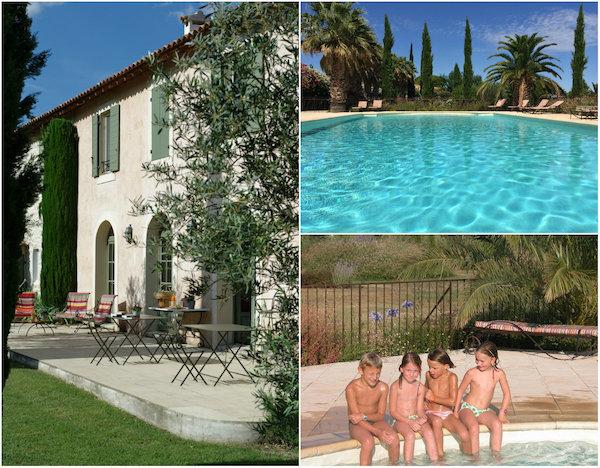 Domaine des Clos vakantiehuizen Zuid Frankrijk