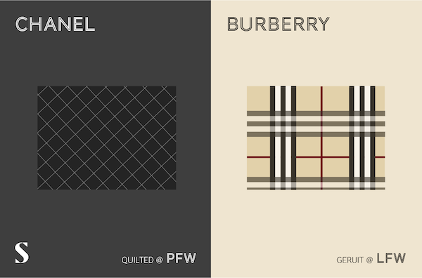 Chanel versus Burberry
