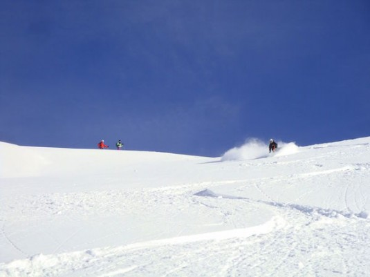 Off piste in Val d'Isère