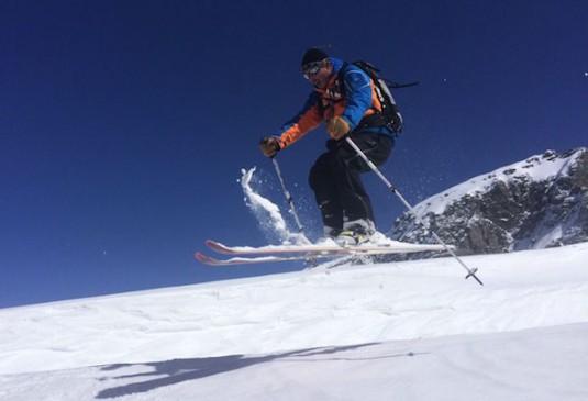 Off-piste skien in Frankrijk