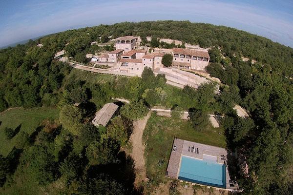 Vakantiewoningen domaine du Coulon in de Ardèche