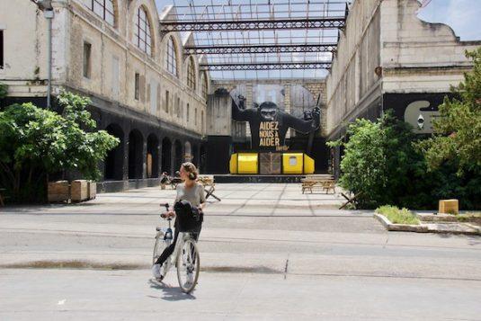 Fietsen bij Darwin in Bordeaux