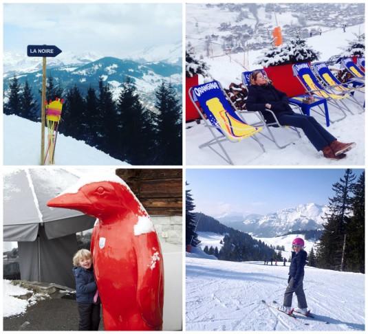 colllage-la-clusaz-ski-holiday