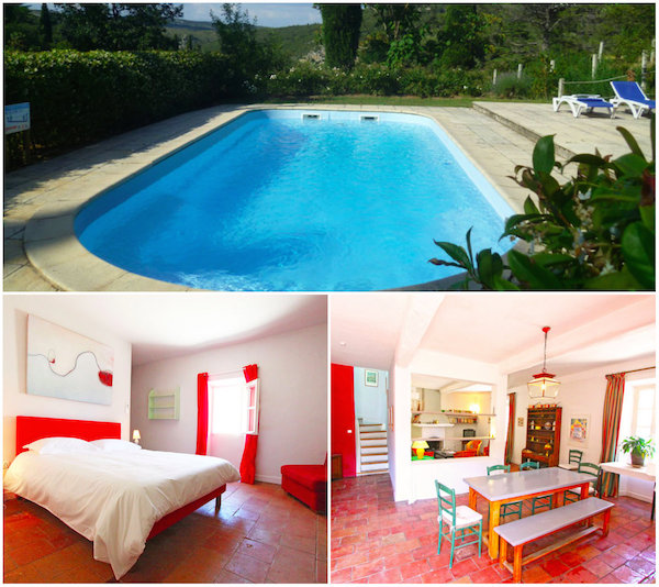 Gites Haut Gléon in Corbières met privé zwembad